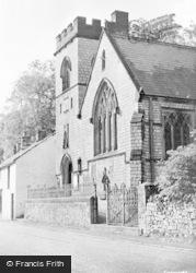 Miller's Dale, St Ann's Church c.1955