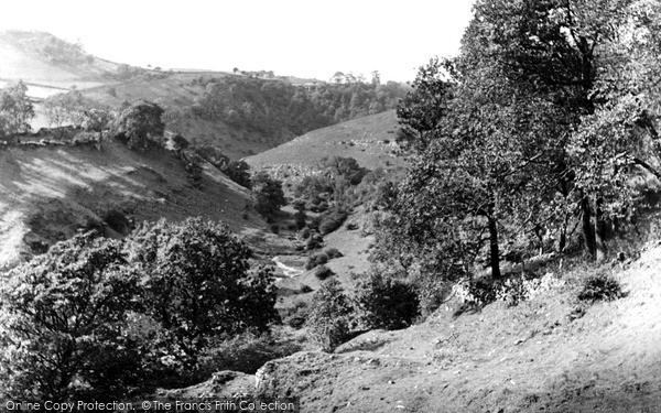 Millers Dale, the Dale c1955