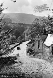 Miller's Dale, The Mill Road c.1955