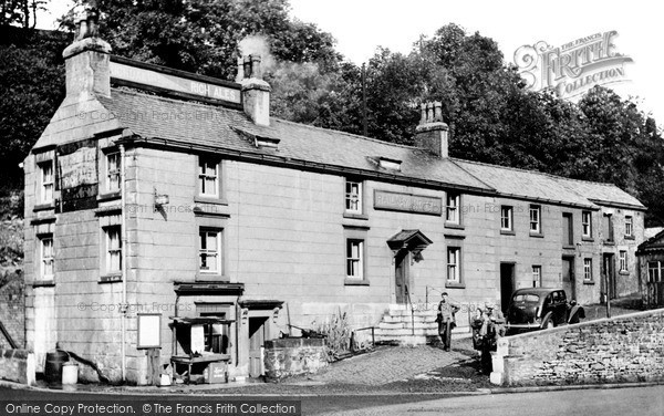 Millers Dale, the Railway Hotel c1955