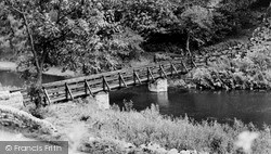 The River Bridge c.1955, Miller's Dale