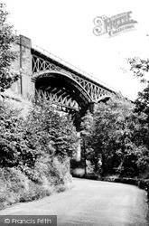 The Viaduct c.1955, Miller's Dale