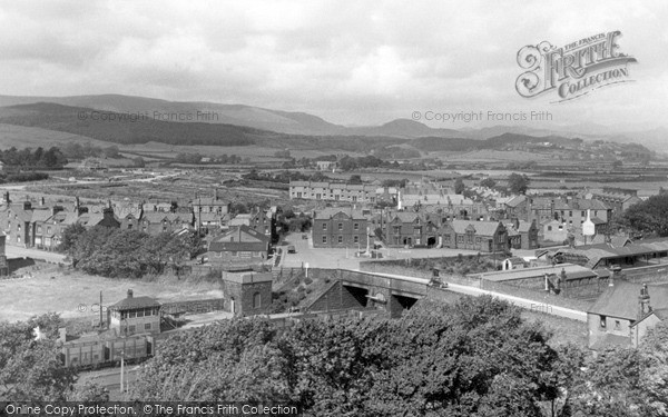 Millom, from the Church Tower c1950