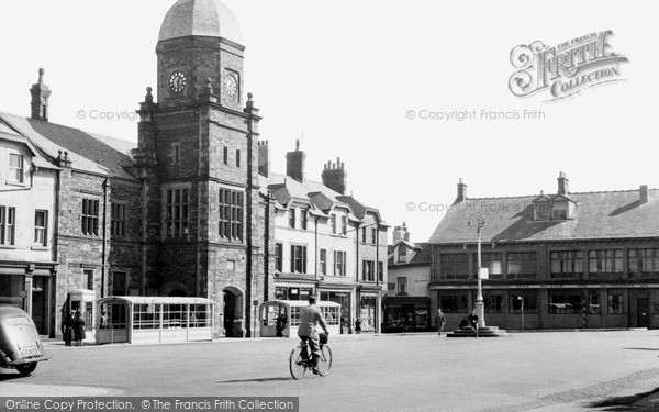 Millom, Market Square c1955