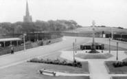 Millom, Memorial Gardens c.1960