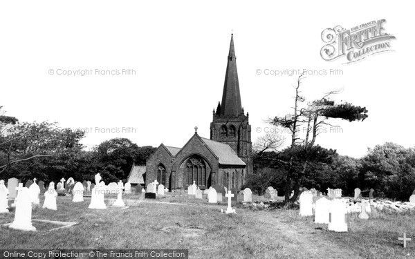 Millom, Church c1955
