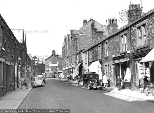 Millom, Wellington Street c1955