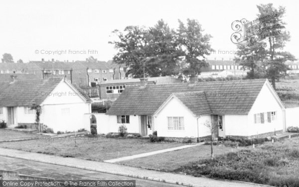 Photo of Millway Rise, Bungalow And Centre c.1965