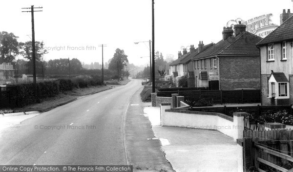 Photo of Millway Rise, Chard Road c.1960