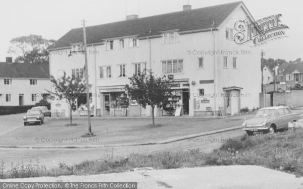 Photo of Millway Rise, Shops And Post Office c.1965