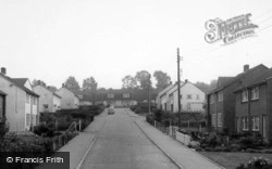 Millway Rise, St Andrew's Drive c.1960