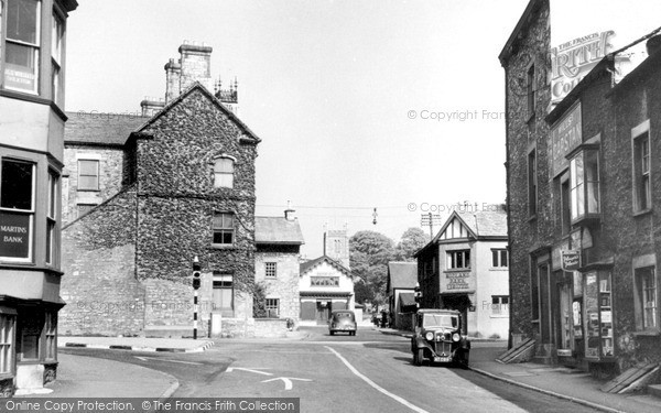 Milnthorpe, Cross Roads c1955.  (Neg. M263020)  � Copyright The Francis Frith Collection 2008. http://www.francisfrith.com