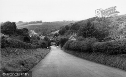 Approach To Village c.1960, Milton Abbas