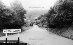 Approach To Village c.1965, Milton Abbas