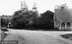 Hill Cottage And Hill Lodge c.1965, Milton Abbas