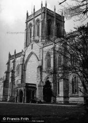 Milton Abbey c.1955, Milton Abbas