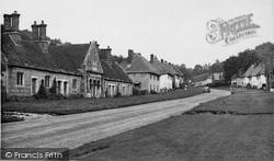 The Village Street And Almshouses c.1955, Milton Abbas