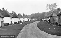 The Village Street c.1955, Milton Abbas