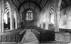 Milton Abbot, Church Interior 1910