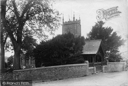 Milton Abbot, St Mary's Church And Lychgate 1910