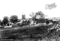 Milton Abbot, St Mary's Church And Village 1908
