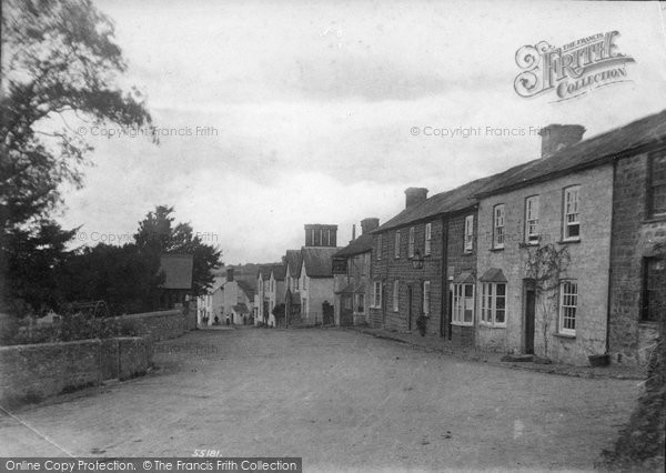 Milton Abbot, the Village 1906