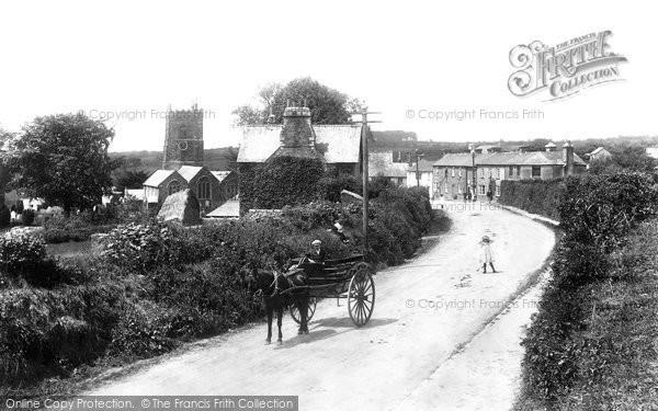 Milton Abbot, Village 1908