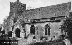 All Saints Church c.1939, Milton