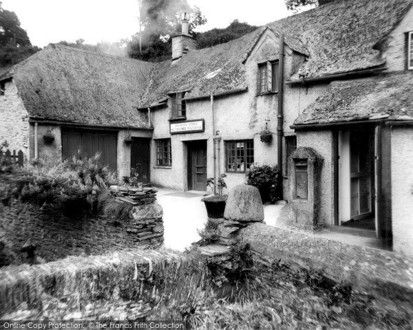Milton Combe, Brookside Strores & Post Office c1965