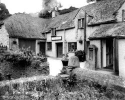 Milton Combe, Brookside Strores And Post Office c.1965