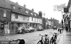 Milton Regis, High Street c.1955