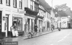 Milton Regis, High Street Shops c.1955