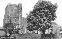 Milton Regis, Holy Trinity Church c.1955