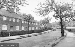 Milton Regis, The Vicarage Estate c.1960