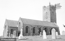 The Church c.1955, Milverton