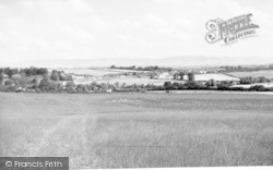 View Of The Quantocks From Oake Road c.1955, Milverton