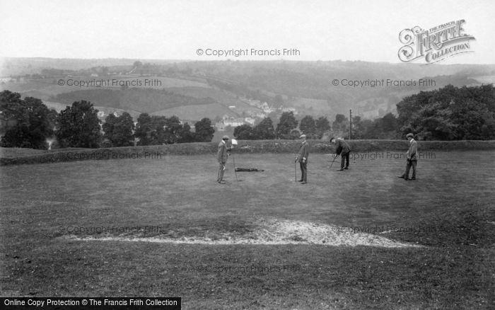 Photo of Minchinhampton, Golf Links, 17th Hole 1910