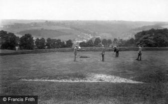 Minchinhampton, Golf Links, 17th hole 1910