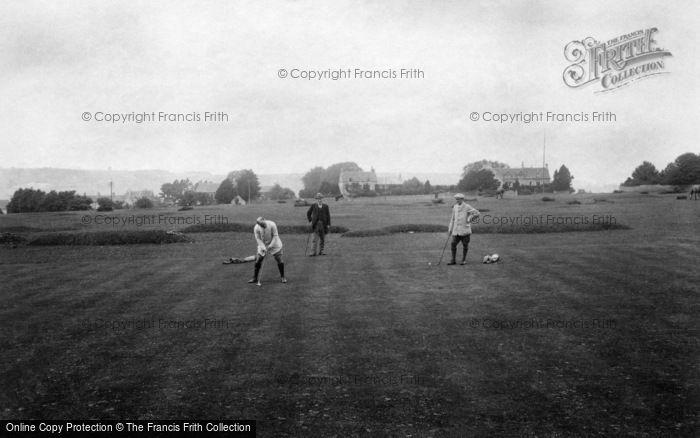 Photo of Minchinhampton, Golf Links, 3rd Hole 1910
