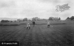 Minchinhampton, Golf Links, 3rd Hole 1910