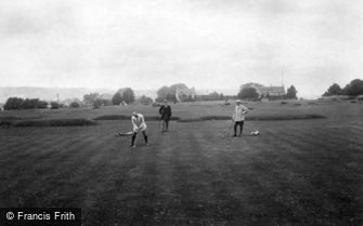 Minchinhampton, Golf Links, 3rd Hole 1910