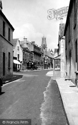Minchinhampton, High Street c.1955