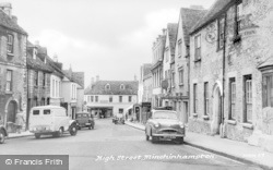 Minchinhampton, High Street c.1960