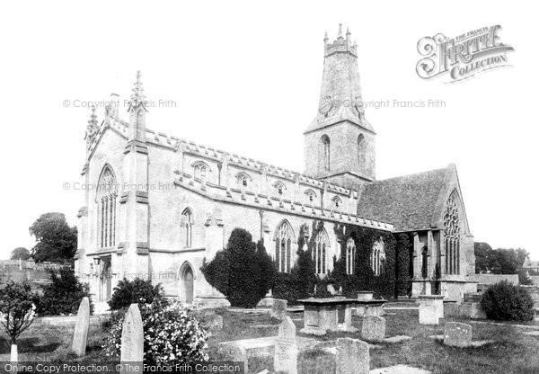 Photo of Minchinhampton, Holy Trinity Church 1901