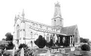 Minchinhampton, Holy Trinity Church 1901