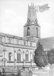 Minchinhampton, Holy Trinity Church c.1955
