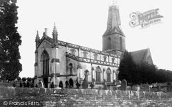 Minchinhampton, Holy Trinity Church c.1960