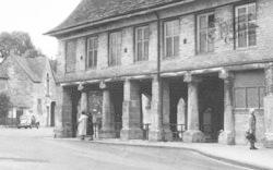 Minchinhampton, Market House c.1955