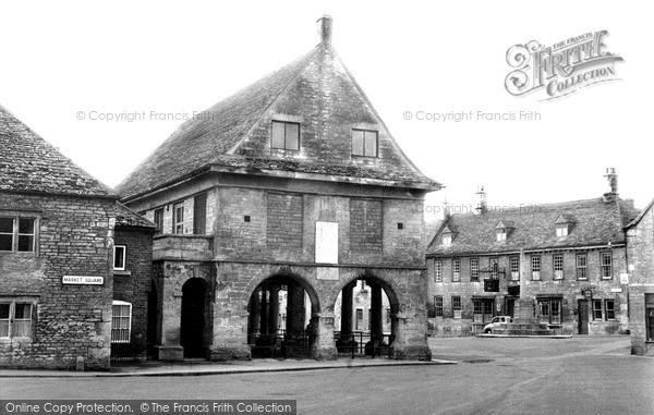 Minchinhampton, Market House c1960