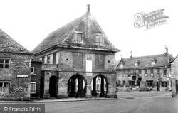 Minchinhampton, Market House c.1960
